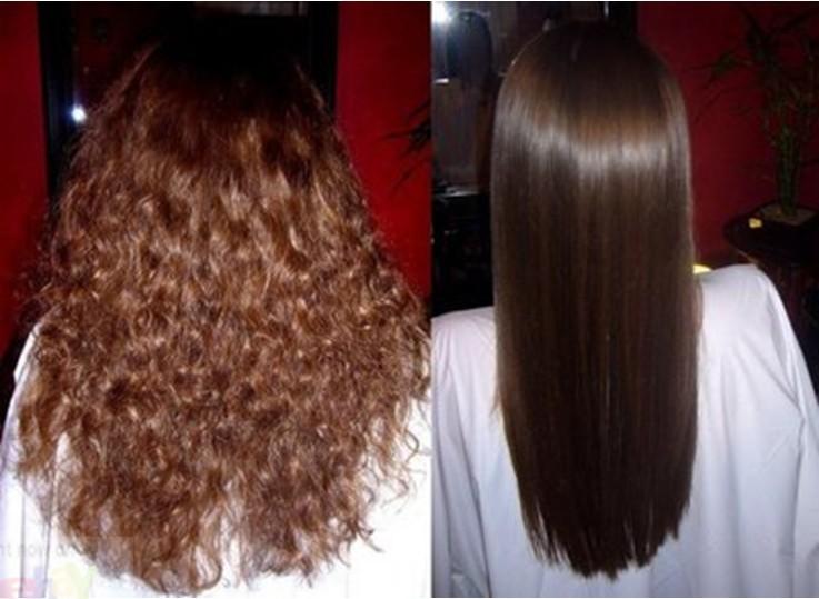Keratin Hair Relaxing/ Perming